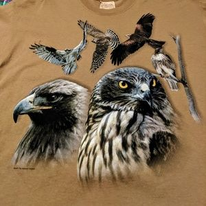 The Mountain Birds Of Prey Graphic Tee